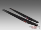 MS Composit Carbon Fiber Composite Main Rotor Blades 710mm (12/4+5)