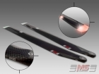 MS Composit Carbon Fiber Composite Night Main Rotor Blades 680mm (12/4+5) with 2 Colors