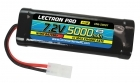 Lectron Pro™ NiMH 7.2V (6-cell) 5000mAh Flat Pack with Tamiya Connector