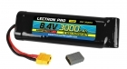Lectron Pro™ NiMH 8.4V (7-cell) 3000mAh Flat Pack with XT60 Connector <b>+ CSRC adapter for XT60 batteries to popular RC vehicles</b>