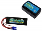 Power Pack #31 - AC-3A Charger + 1 x 7.4V 5200mah 35C w/ EC5 Connector (#2S5200-355)