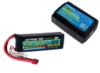 Power Pack #33 - AC-3A Charger + 1 x 11.1V 5200mah 50C w/ T-Plug Type Connector (#3S5200-50D)