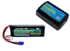 Power Pack #34 - AC-3A Charger + 1 x 11.1V 5200mah 50C w/ EC3 Connector (#3S5200-50E)