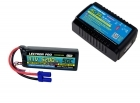 Power Pack #35 - AC-3A Charger + 1 x 11.1V 5200mah 50C w/ EC5 Connector (#3S5200-505)