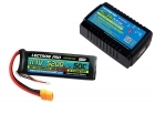 Power Pack #36 - AC-3A Charger + 1 x 11.1V 5200mah 50C w/ XT90 Connector (#3S5200-509)