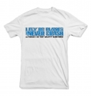 "T-Shirt ""I Fly Planes and Never Crash"""