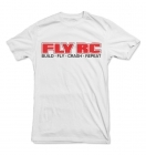 "T-Shirt ""Fly RC - Build, Fly, Crash, Repeat"""