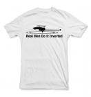 "T-Shirt ""Real Men Do It Inverted"""