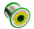 "Lead-Free Rosin-Core <font color=""#FF0000"">Silver</font> Solder - 1.0 mm Diameter - 2 lb. Roll"
