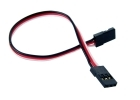 "2-Packages of Male-to-Male Servo Extension Cord - 6"" (150mm)"