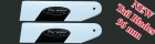 Torsion 96mm Carbon Fiber Tail Blades