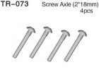 Axle Screw Set (M2 x 18mm)