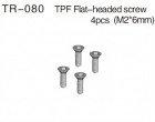 Flat Head Screw Set (M2 x 6mm)