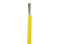 Yellow Silicone Wire by the foot