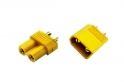 2-Packages of XT30 Connectors - (1) Male, (1) Female