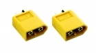 2-Packages of XT60 Connectors - 2-Pack - Male