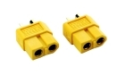 2-Packages of XT60 Connectors - 2-Pack - Female