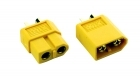 2-Packages of XT60 Connectors - (1) Male, (1) Female
