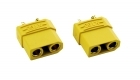 2-Packages of XT90 Connectors - 2-Pack of Female