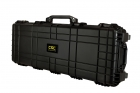 "Premium Weather Resistant 42"" Rifle / Shotgun Case - Black - DIY Foam"