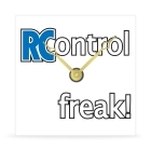 Wall Clock - RC Control Freak! - 8 in.