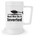 Beer Stein - Real Men Do It Inverted