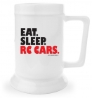Beer Stein - Eat. Sleep. RC Cars.