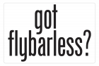 Aluminum Sign - Got Flybarless? - 5x7 in.