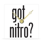 Wall Clock - Got Nitro? - 8 in.