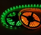 "2-Packages of Waterproof LED Lights - 12"" Strip (18 Lights) - Available in Eight Different Colors"