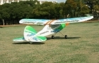 TechOne FunFly 3-Ch EPP Trainer Plane with Brushless Motor - Green