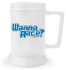 Beer Stein - Wanna Race?